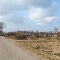 Вьезд в деревню Личицы.