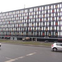 Левое крыло бизнес-центра Бенуа на Пискарёвском проспекте