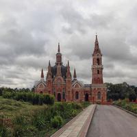 Церковь Знамения Божьей Матери (Знаменская) в селе Вешаловка (Архитектор: В. И. Баженов, 1794 г.)