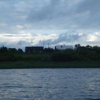 Озеро и деревня Чайки.