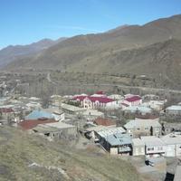 Вид на часть селения
