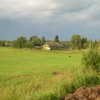 Вид с горы на Чекотово