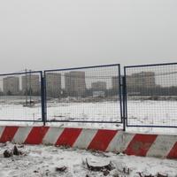Ленино-Дачное, очищенная площадка под строительство торгового центра