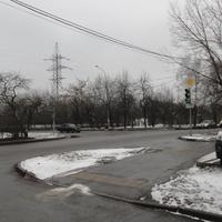 Перекрёсток улиц Промышленная и Бехтерева