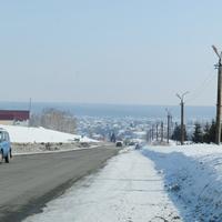 Зимняя панорама Маслянино.