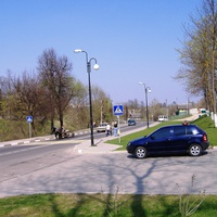 Стоянка у дворца Потемкина