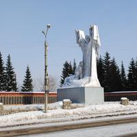 Мемореал погибшим в годы ВОВ.