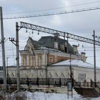 Сергиево (раньше пос. Володарский) ж/д станция