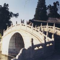 Пекин, парк Бэйхай, мостик