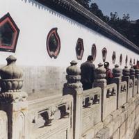 Пекин, Летний дворец, декоративные фигурные окна