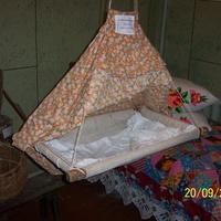 Люлька для младенца.В музее с.Семёновск.