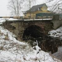 Одноарочный мост  в Горной Шальдихе