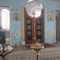 Лукинское. Церковь Успения Пресвятой Богородицы, интерьеры идет реставрация