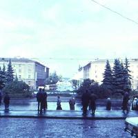 Площадь Гагарина, сентябрь 1989 г.