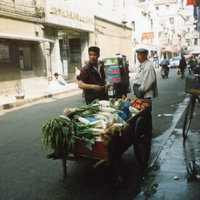 Шанхай, уличная торговля
