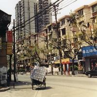 На улицах Шанхая