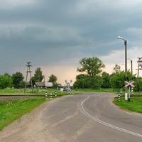 Переезд по ул. Советская, ж.д. линия Калинковичи - Гомель