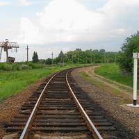 Начало линии на Хойники