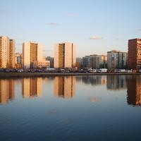 Озеро Долгое.Улица Маршала Новикова.