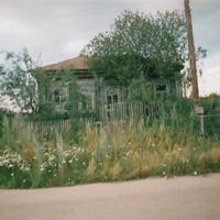 Один из последних домов села Никольское.