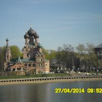 храм на останкинском пруду