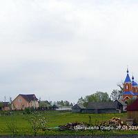Центр села Озеро. 27.04.2014 р.