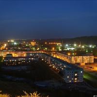 Ночной Гурьевск
