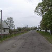 Вулиця на в*їзді в село з боку Новаків.