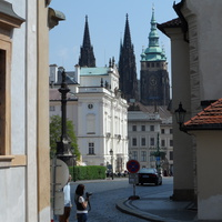 Вид на Собор Святого Витта