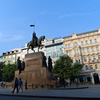 Памятник на Вацлавской площади