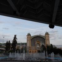 """""""Поющий"""" фонтан в Выставочном Комплексе"""