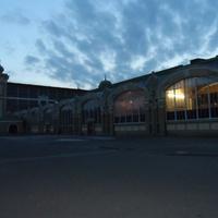 Выставочный комплекс, главный вход