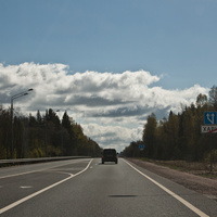 Участок трассы М10