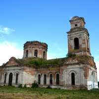 Заброшенный Покровский храм