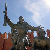 Генерал Белобородов, его дивизия и сибиряки спасли Истру и Москву от немецких зазватчиков.