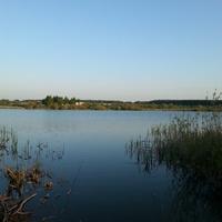 Рыбалка на пруду в Сотниково
