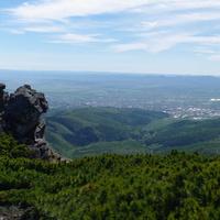 Южно-Сахалинск с пика Чехова