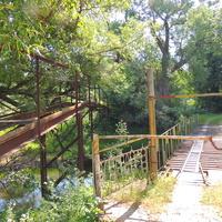 Частный мост в Щербинино