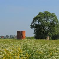 Щербинино, силосная башня