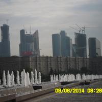 Москва Сити вид с Поклонной горы