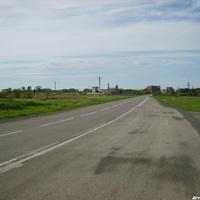 Трасса вблизи поселка Горняк