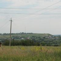 вид на село Урыв от церкви