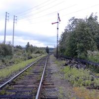 """Последний семафор на станцию """"Онега"""""""