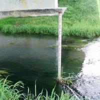 Измеритель глубины воды на реке Нудоль