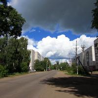 """Район """"Стекольный"""" ул.Октябрьская."""