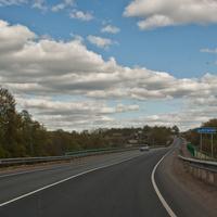 Дорога через Воронино