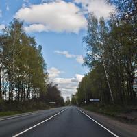 Трасса А108 через Воронино