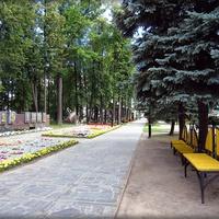 Зеленодольск.Парк Победы.