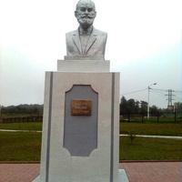 Памятник академику И.П.Павлову у больничного комплекса