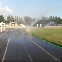 Стадион готовится к новым футбольным баталиям
